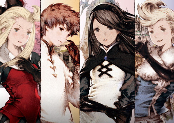 From left to right: Edea, Tiz, Agnes, and Ringabel.