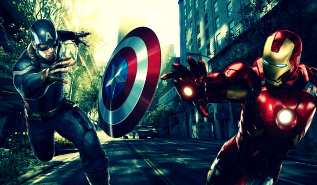 Photo found from ThanosEditions's deviantart page.   http://thanoseditions.deviantart.com/art/Marvel-Civil-War-Captain-America-Vs-Iron-Man-373972199